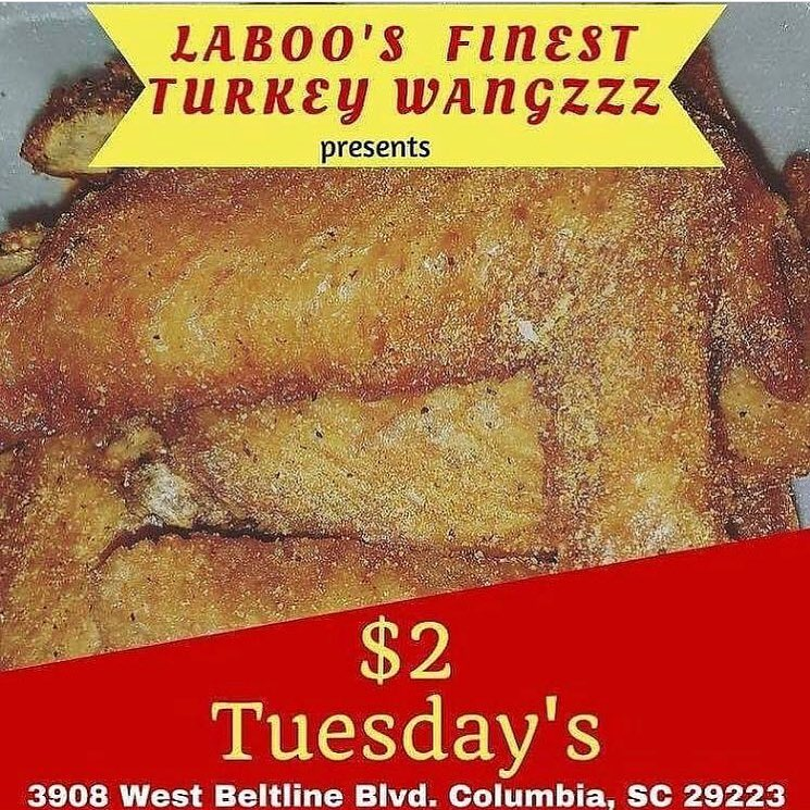 LaBoo's Finest Turkey Wangz-Lunch Box